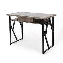 """Стол письмнный  """"Робо"""" из массива дерева в стиле loft"""