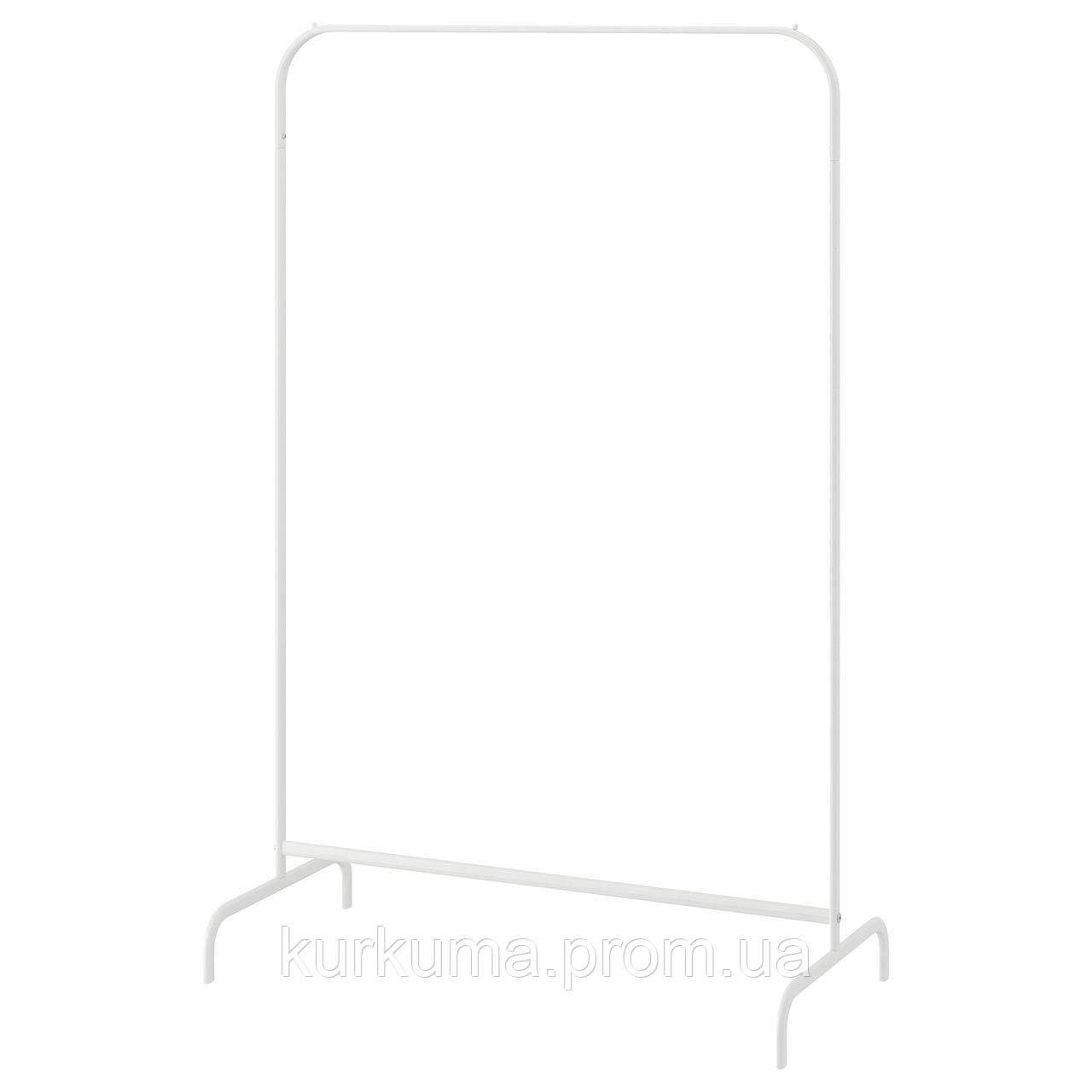IKEA MULIG Вешалка для одежды, белый  (601.794.34)