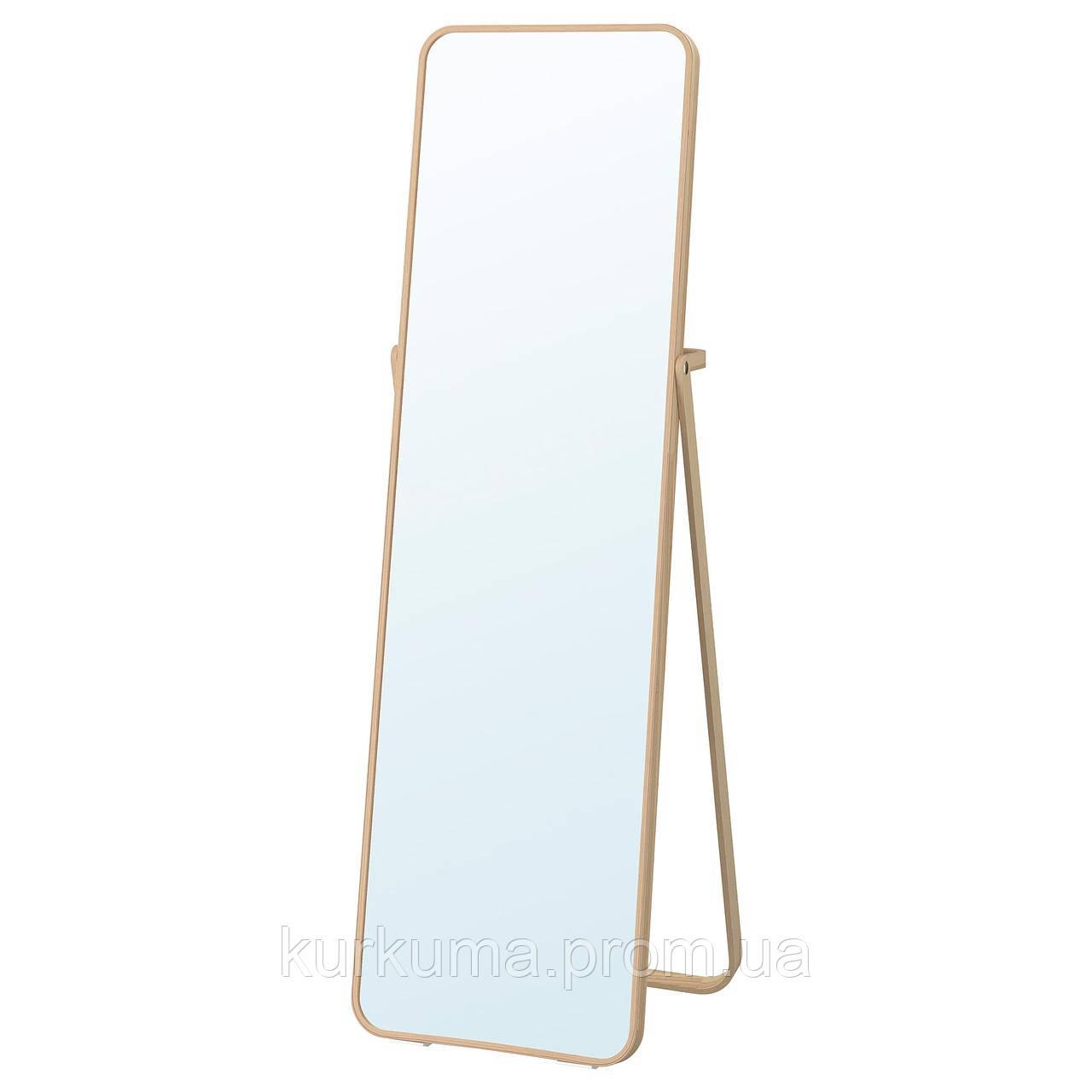 IKEA IKORNNES Напольное зеркало, ясень  (302.983.96)