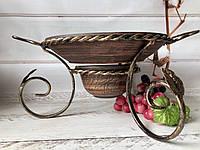 Набор садж для подачи шашлыка из красной глины, фото 1