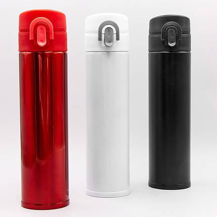 Бутылка для воды-термос SP-Planeta 500ml FI-302 (сталь, цвета в ассортименте), фото 2