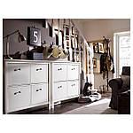 IKEA HEMNES Шкаф для обуви, белый  (601.561.21), фото 7