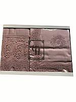 Комплект кружевного постельного белья тм Gellin Home евро размера , фото 1