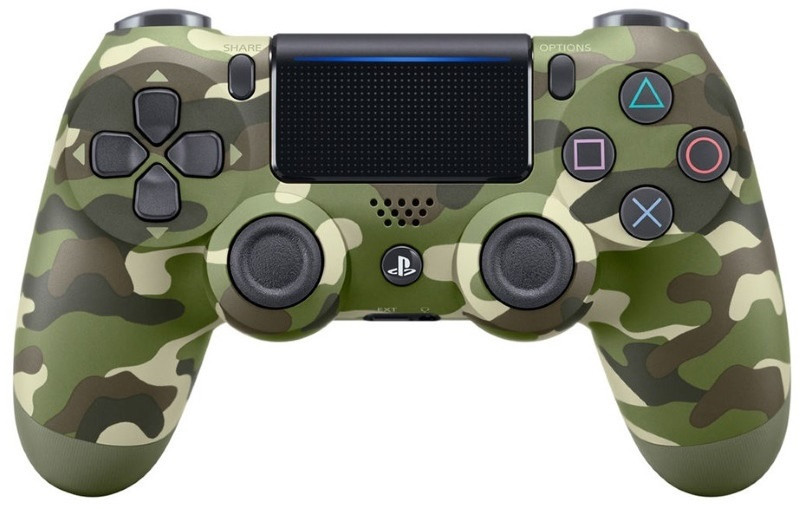 Геймпад Sony PS4 Dualshoсk 4 V2 Green Cammo