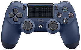 Геймпад Sony PS4 Dualshok 4 V2 Midnight Blue