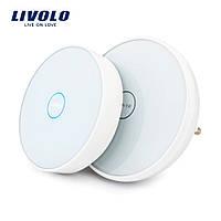 Сенсорний бездротовий дверний дзвінок Livolo (VL-D101K-11/D101EU-11), фото 1