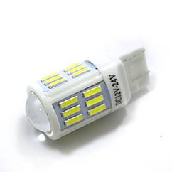 LED Galaxy T20 ( W21-5W 7443 W3х16q ) 7020 24SMD + 7020 3SMD White (Белый)