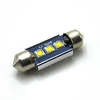 LED Galaxy C5W ( SV8,5 ) CAN CREE 3535 3SMD 36mm White (Белый)