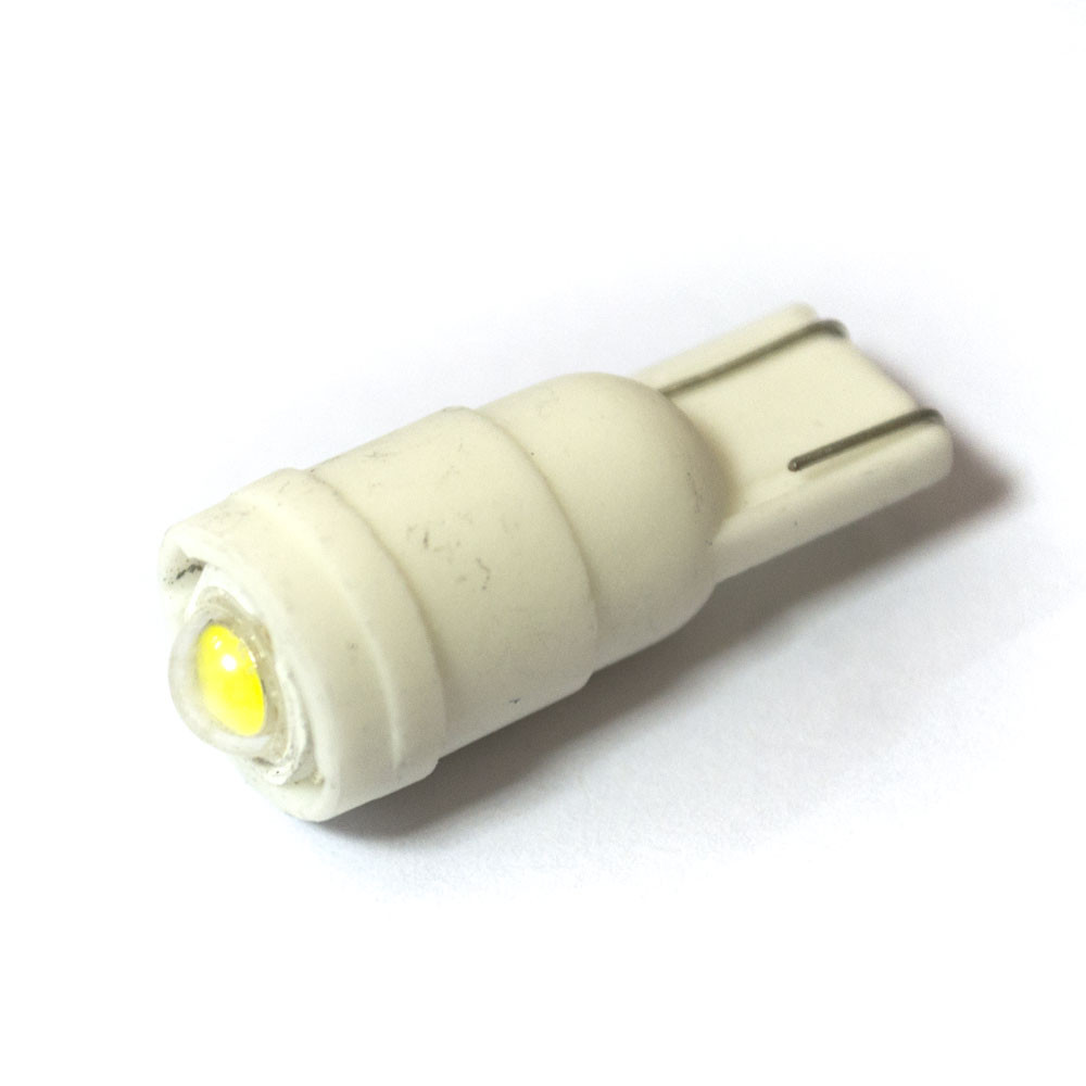 LED Galaxy T10 ( W5W ) CERAMIC HUGO 1SMD 1.5W White (Белый)