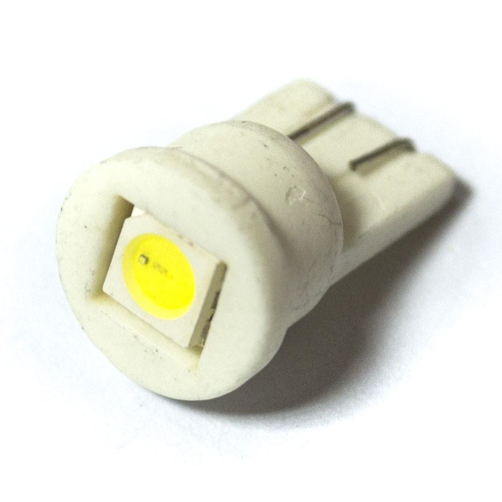 LED Galaxy T10 ( W5W ) CERAMIC 5050 1SMD White (Белый)