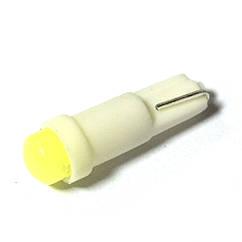 LED Galaxy T5 ( W3W ) COB 1PC 1.0W White (Белый)