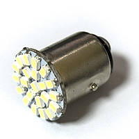 LED Galaxy S25 ( P21-5W 1157 BA15d ) 1210 22SMD White (Белый)