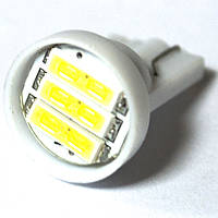 LED Galaxy T10 ( W5W ) 7014 3SMD White (Белый)