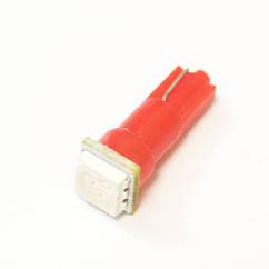 LED Galaxy T5 ( W3W ) 5050 1SMD Red (Красный)