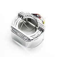 "Маски 2,5"" TIGUAN U-ring LED CREE"