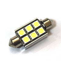 LED Galaxy C5W ( SV8,5 ) CAN 5050 6SMD 39mm White (Белый)