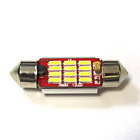 LED Galaxy C5W ( SV8,5 ) CAN 4014 12SMD 36mm White (Белый)