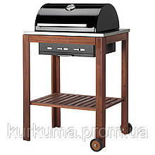 IKEA APPLARO/KLASEN Гриль, коричневая Морилка  (492.818.38)