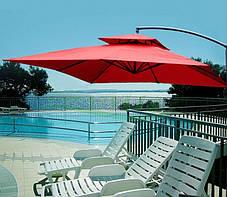 Садовый зонт Desco ,250х250 см. бордовый,, фото 2