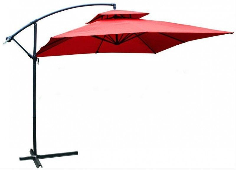Садовый зонт Desco ,250х250 см. бордовый,