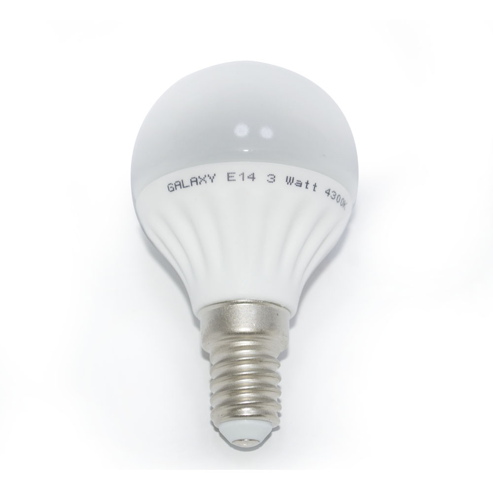 E14 LED Galaxy Premium Ceramic 5W 4300K