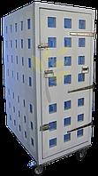 Почтово-транспортный контейнер на колесной базе