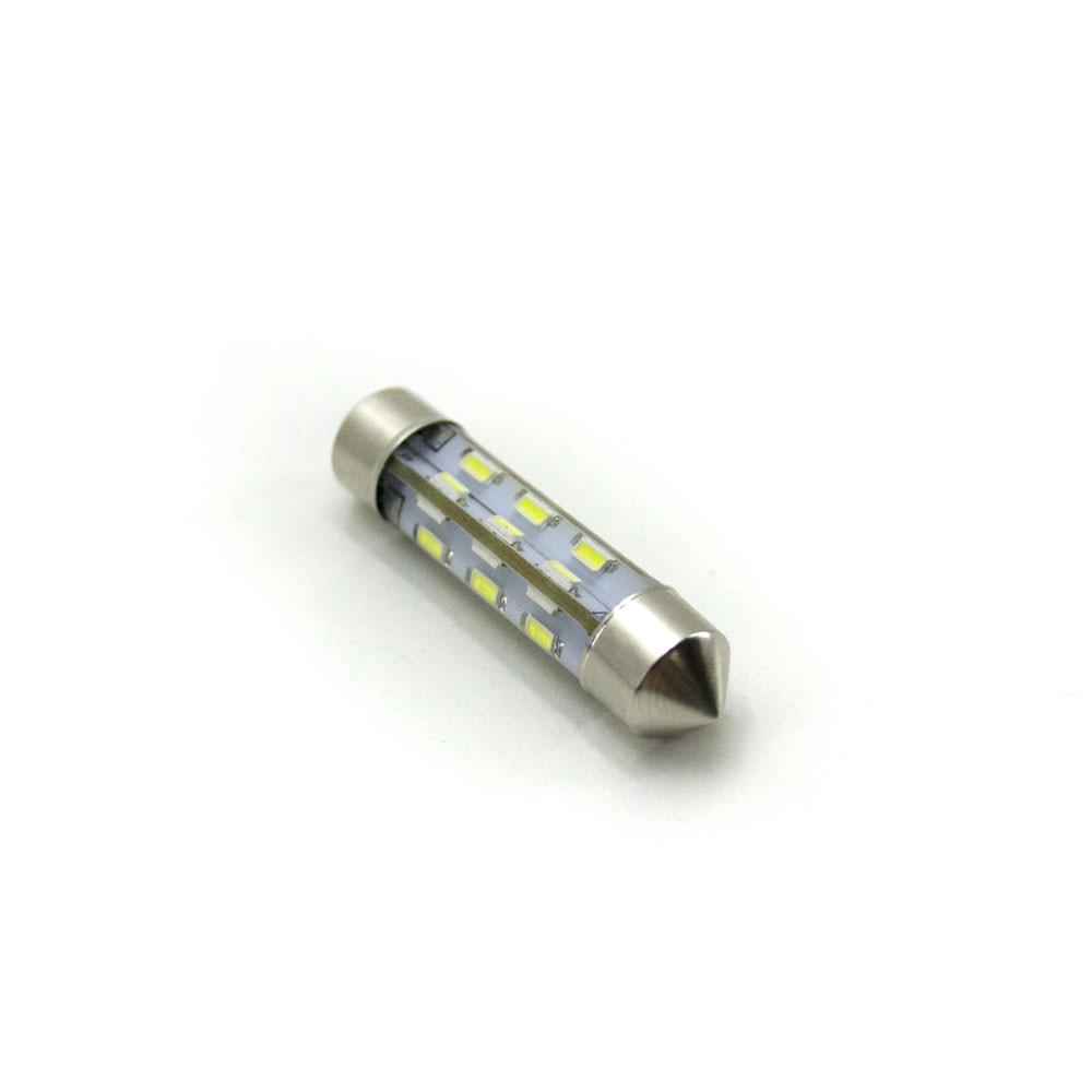 LED Galaxy C5W ( SV8,5 ) 3014 24SMD 39mm White (Белый)
