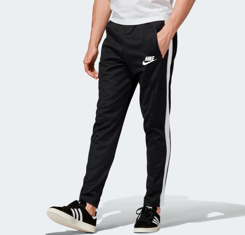 Демисезонные спортивные штаны для тренировок Nike Black (Найк)