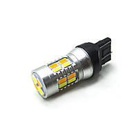 LED Galaxy T20 ( W21-5W 7443 W3х16q ) 5730 20SMD White-Yellow (Белый-Желтый)