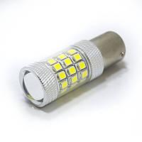 LED Galaxy S25 ( P21W 1156 BA15S ) 2835 36SMD + 2835 6SMD Lens White (Белый)