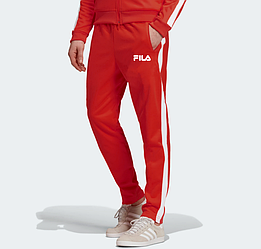 Мужские летние спортивные штаны Fila Red (Фила)