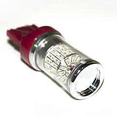 LED Galaxy T20 ( W21-5W 7443 W3x16q) 3014 48SMD Red (Красный)