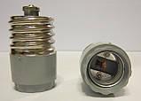 Переходник для ламп с цоколем Е-40 на Е-27, фото 2