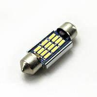 LED Galaxy C5W ( SV8,5 ) CAN SAMSUNG 4014 12SMD 36mm White (Белый)