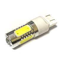 LED Galaxy T20 ( W21-5W 7443 W3х16q ) HIGH POWER 5PCS Lens 7.5W White (Белый)
