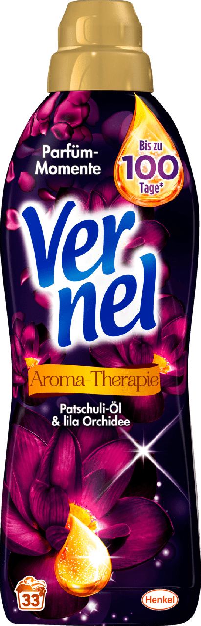 Кондиционер - ополаскиватель для белья Vernel Aromab-Therapie Patchouli-Öl & lila Orchidee, 1L