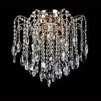Хрустальная люстра СветМира на 8 лампочек VL-30849/8  (золотая)