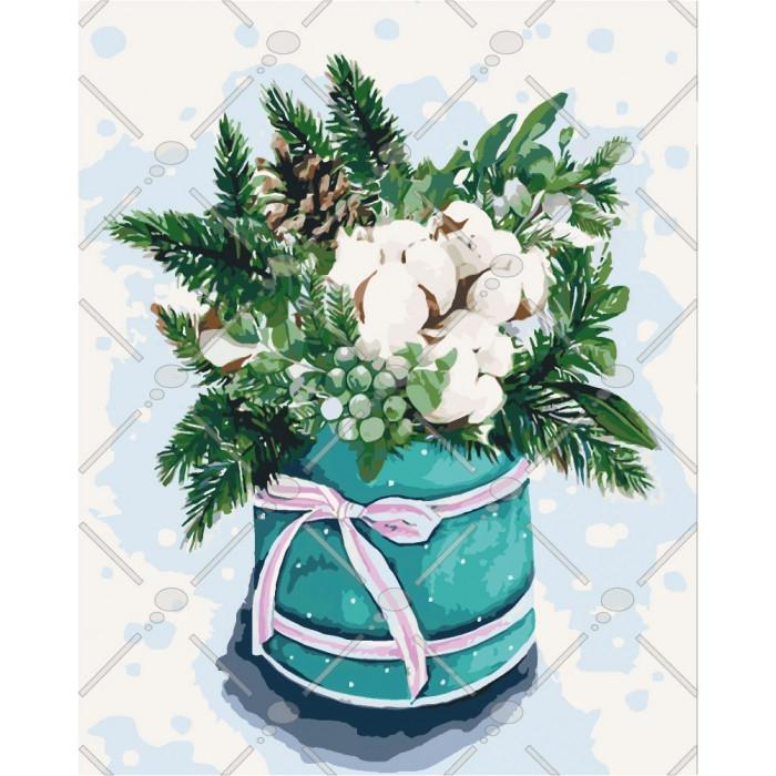 Картина по номерам Идейка - Краски зимы-2 40x50 см (КНО3029)