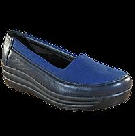 Женские ортопедические туфли 17-003, синий, 36, фото 1