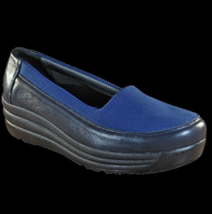 Женские ортопедические туфли 17-003, синий, 36