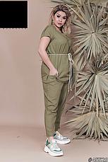 Костюм женский брючный  летний, размер:50-60, фото 2