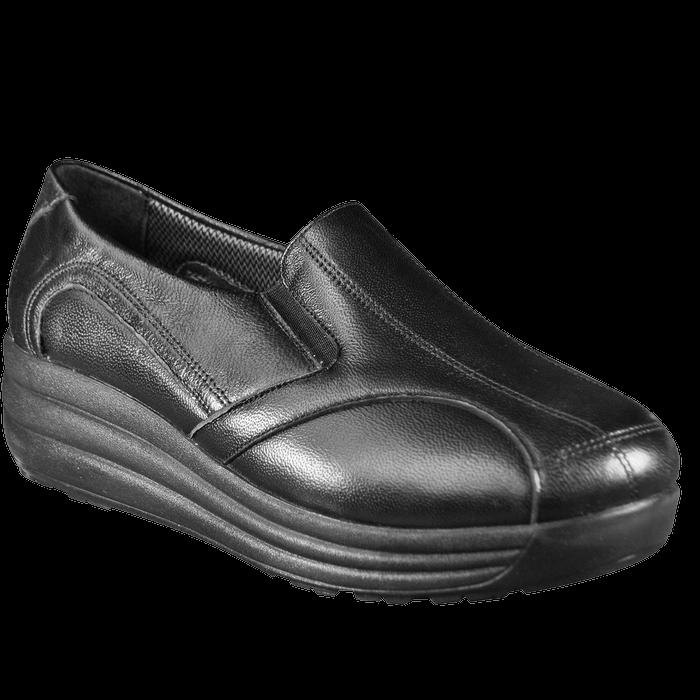 Женские ортопедические туфли 17-012, черный, 36