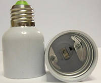 Перехідник для ламп з цоколем Е-27 на Е-40