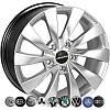 Литые диски Zorat Wheels BK438 R16 W7 PCD5x112 ET45 DIA66.6 HS