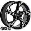 Литые диски Zorat Wheels BK5419 R17 W7.5 PCD5x112 ET35 DIA66.6 BP