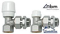 Комплект(2шт) радиаторных кранов угловой RBM (Италия)