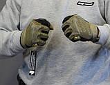 Тактические перчатки Mechanix Contra PRO - coyote (Mex-coyot-m), фото 2