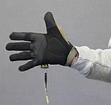 Тактические перчатки Mechanix Contra PRO - coyote (Mex-coyot-m), фото 3