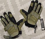 Тактические перчатки Mechanix Contra PRO - coyote (Mex-coyot-m), фото 9