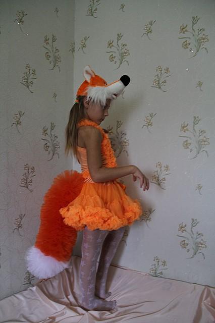 Детский карнавальный костюм Лисичка 2 прокат Киев  продажа 8f52afcdf9d8e
